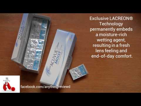 1day Acuvue Moist contact lenses review