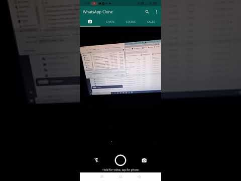 Project: Whatsapp clone Module: Create Group page and camera page.  extreme own Date: 26 may 2021  working steps:  1) Created floating action button for selecting contact.  2) created group member selection page and linked with floating action button.  3) created methods to  handle group member selection and deletion system.