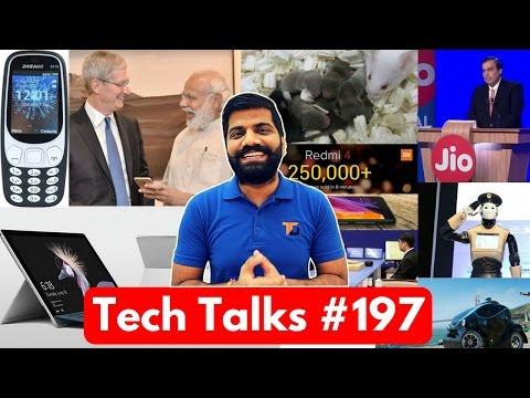 Tech Talks #197 - Micromax Copy, extratorrent.cd, G5S, Apple Vs Nokia, Jio Vs AirTel, RoboCop