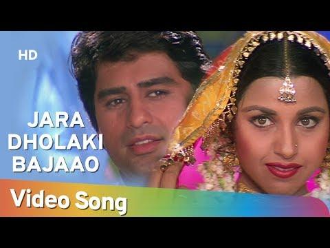 Zara Dholaki Bajaao Goriyo   Salma Pe Dil Aaga Ya   Ayub Khan   Saadhika   Hindi Song