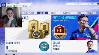 PRIMUL DRAFT LIVE LA FIFA 19 !!!