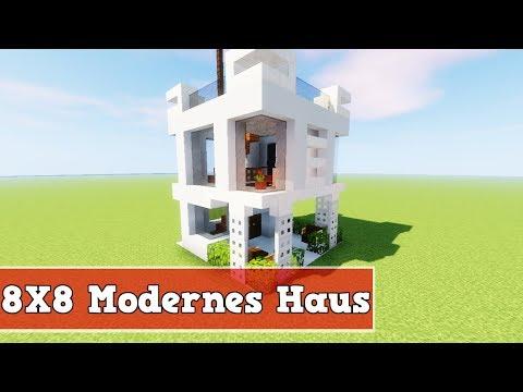 Wie Baut Man Ein Modernes Haus In Minecraft Minecraft Modernes Haus - Minecraft haus bauen german
