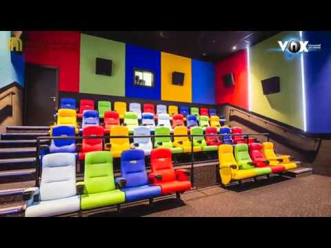 Take A Tour The Largest Cinema In AbuDhabi, VOX Cinemas At Yas Mall!