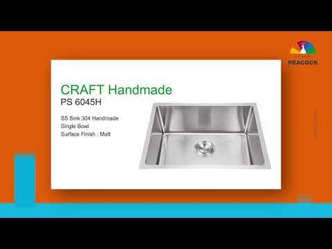 PS-6045H Craft Handmade Sink