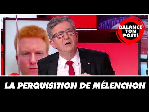 Le Président de la France Insoumise revient sur sa perquisition :