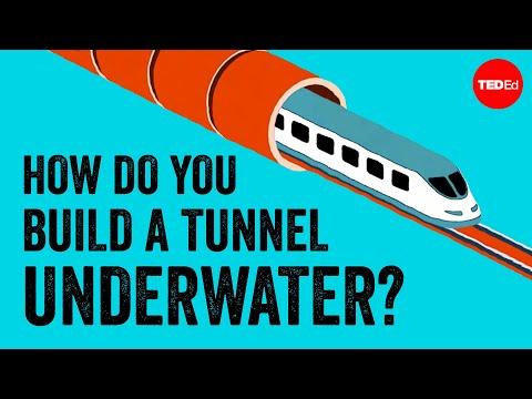 Jak se stavěl Eurotunel?