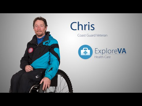One run down the mountain on adaptive ski equipment gave Chris his life back.