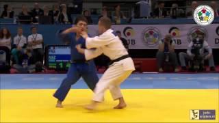 Judo 2014 Grand Prix Dusseldorf: Limare (FRA) - Smetov (KAZ) [-60kg] bronze