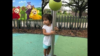 FAMILY VLOG #4 - WE FOUND THE TELETUBBIES HOUSE!
