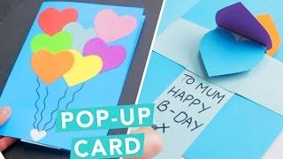3D Pop-Up Card DIY Card Ideas