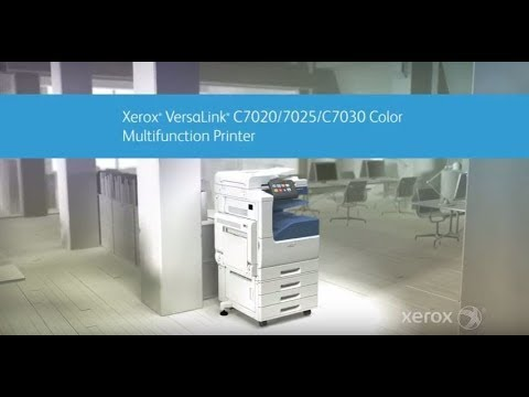 Xerox® VersaLink C7000 Series Color Multifunction Printer