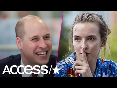 Prince William Is Such A 'Killing Eve' Fan He Scored A Pair Of PJs Worn By Star Jodie Comer