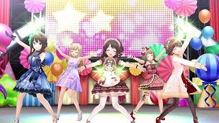Rin Shibuya  - (THE iDOLM@STER: Cinderella Girls) - Happy New Yeah! - Uzuki/Rin/Mio/Kanako/Shin (IDOLM@STER CINDERELLA GIRLS STARLIGHT STAGE) 4K60FPS