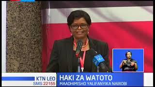 UNICEF na serikali ya Kenya zinapanga kikao kuhusu Haki za Watoto