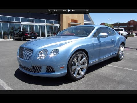 2012 Bentley Continental GT Walkaround