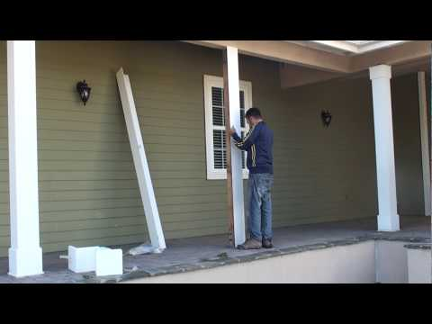 Download Link Youtube Dyi How To Install Patio Pvc Column