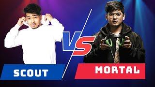 Mortal Vs Scout | Mortal mercy Vs Scout Regaltos iMazik Aman TDM