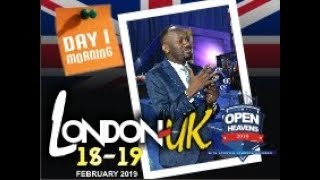 Open Heaven: LONDON, UK. Day 1 Evening With Apostle Johnson Suleman