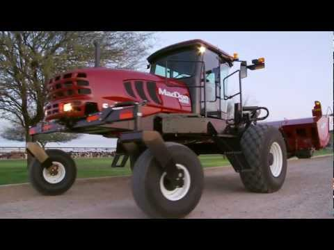 MacDon's M Series Windrowers