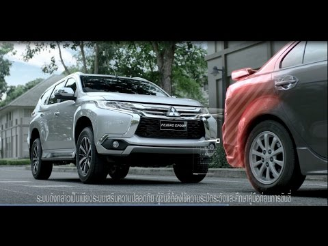 All New Pajero Sport - Advanced Safety: FCM - Forward Collision Mitigation System