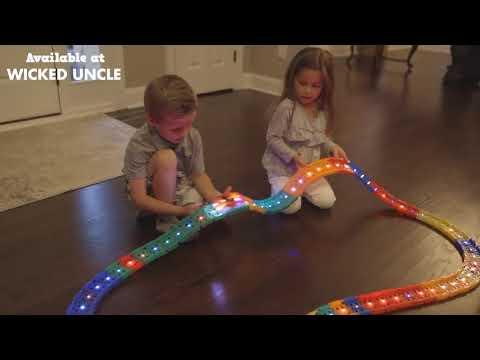 Youtube Video for LED Twister Tracks - Emergency Racer