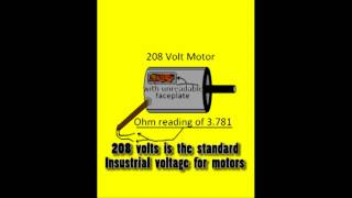 Testing blower motor amperage and voltage most popular videos how to determine motor voltage 59 fandeluxe Images