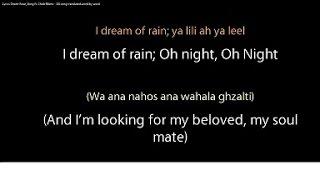 Desert Rose Lyrics - Sting Ft. Cheb Mami (ALL WORDS In Arabic + English And Translation)