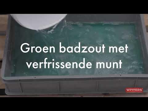 Video Hoe gebruik ik Winners groen badzout met munt?