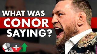 A Deep Analysis of What Conor McGregor Said to Khabib Nurmagomedov Before UFC 229