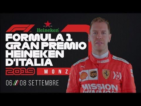 Formula 1 Gran Premio d'Italia 2019: video teaser