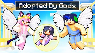 Adopted By GOD Family In Minecraft!
