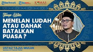 Menelan Ludah saat Sedang Puasa Ramadan, Apakah Membatalkan Puasa?