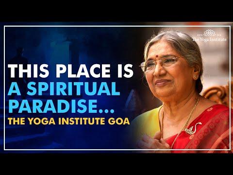The Yoga Institute, Goa - A spiritual paradise - YouTube