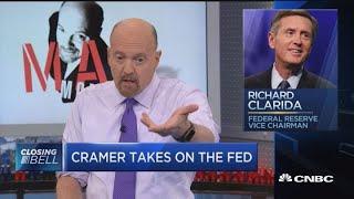 Jim Cramer takes on the Fed — again