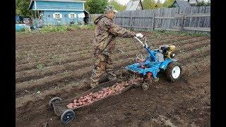Супер картофелекопалка видео