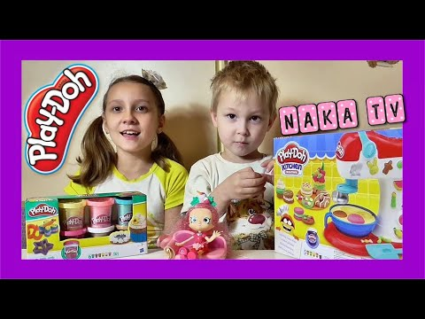 Распаковка Play-Doh Kitchen Creations Spinning Treats Mixer от Hasbro