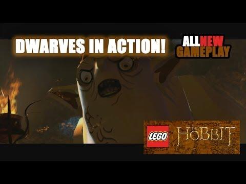 Obrázky a videa z LEGO The Hobbit Video Game