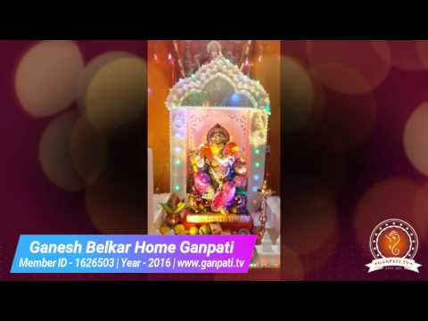 Ganesh Belkar Home Ganpati Decoration Video