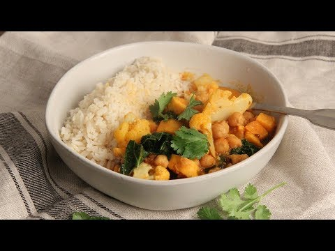 Sweet Potato & Vegetable Curry | Ep. 1297