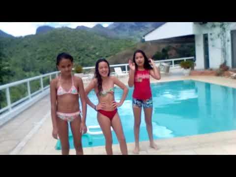 Desafio da piscina 😂