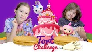 Urodzinowy Tort - Challenge, Fingerlings, Siostra kontra Siostra