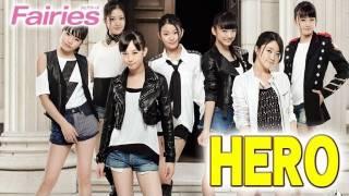 Fairies(フェアリーズ) セカンドシングル「HERO」試聴開始!!