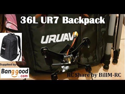 URUAV UR7 36L Backpack for RC Drones & Equipment
