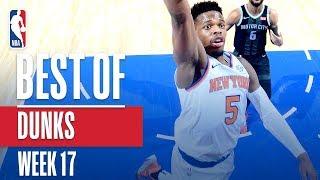 NBA's Best Dunks | Week 17