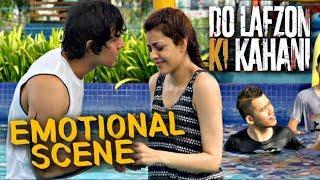 Randeep Hooda and Kajal Aggarwal in Water Park   Do Lafzon Ki Kahani   Emotional Scene   HD