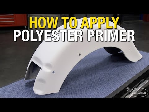 How to Apply 2K AeroSpray Polyester Primer & Epoxy Primer on a Motorcycle Fender - Eastwood