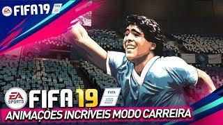 """""""NOVIDADES""""  FIFA 19 -  MODO CARREIRA, NOVAS ANIMAÇÕES, COMEMORAÇÕES, MOSAICOS e APRESENTAÇÕES"""