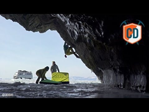 Cave Dwelling At The Adidas Claim Freedom Premier | Climbing Daily Ep.770