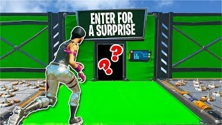 This Deathrun has a SURPRISE you don't want to miss... (Fortnite Creative)