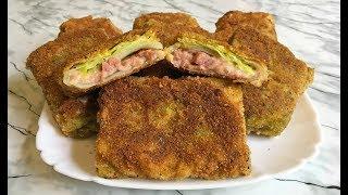 Необычные Конвертики из Молодой Капусты с Сыром и Ветчиной / Cabbage with Cheese and Ham